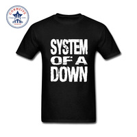 2017 New Fashion Funny SYSTEM OF A DOWN Funny T Shirt For Men