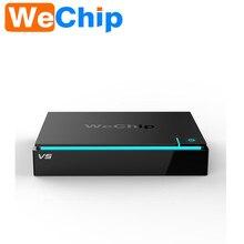 Оригинал Wechip V5 Android tv box S905X Quad Core 2 Г + 16 Г коди 16.1 tv коробки android 6.0 С Wi-Fi и BT4.0 Лучше, чем X96 M8S