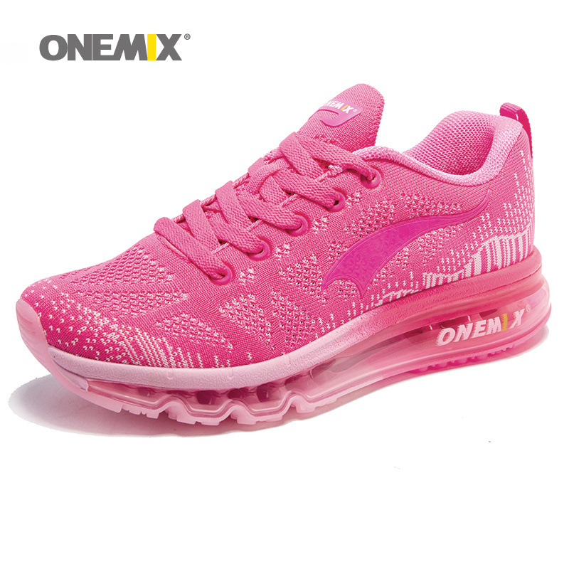 ONEMIX Womens Running Shoes Lightweight Walking Jogging Gym Outdoor Exercise Drive Pink Air Cushion Athletic Sport Sneakers ONEMIX Womens Running Shoes Lightweight Walking Jogging Gym Outdoor Exercise Drive Pink Air Cushion Athletic Sport Sneakers