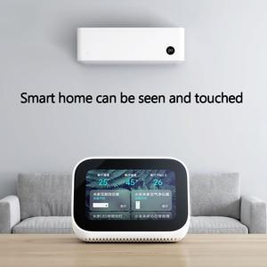 Image 3 - Оригинальный динамик Xiaomi AI с сенсорным экраном, Bluetooth 5,0, 3,97 дюймов, цифровой дисплей, будильник, Wi Fi, умное соединение, Mi динамик
