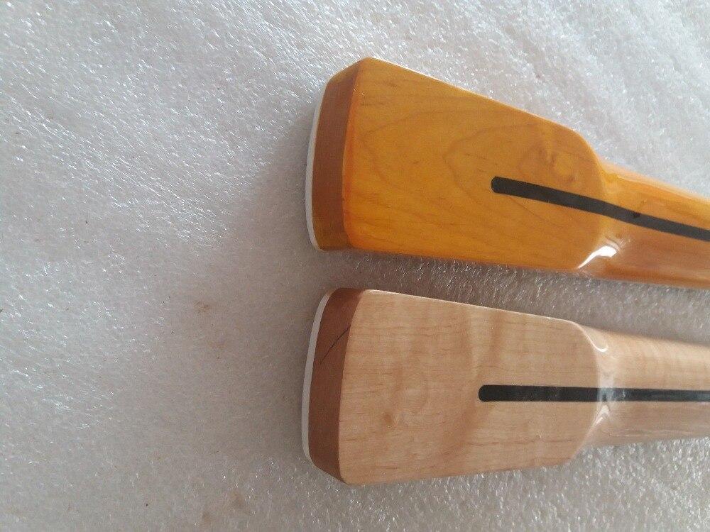 2 pcs érable 21 Fret JAZZ basse cou pour guitare basse électrique pièces de remplacement - 6