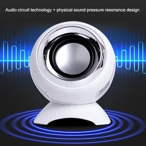 Image 2 - Com fio mini alto falantes de computador chifres graves para o telefone desktop portátil 6w poderoso alto falante usb aux áudio multimídia altifalante