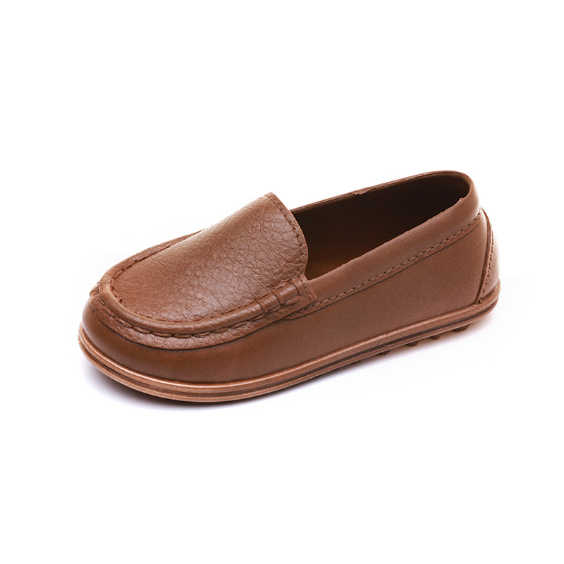 Toddler Boys Leather Shoes Kids Loafers Shoes Children Footwear Boy School Shoes Casual Fashion Kids Barefoot Shoes Boy Child Sh