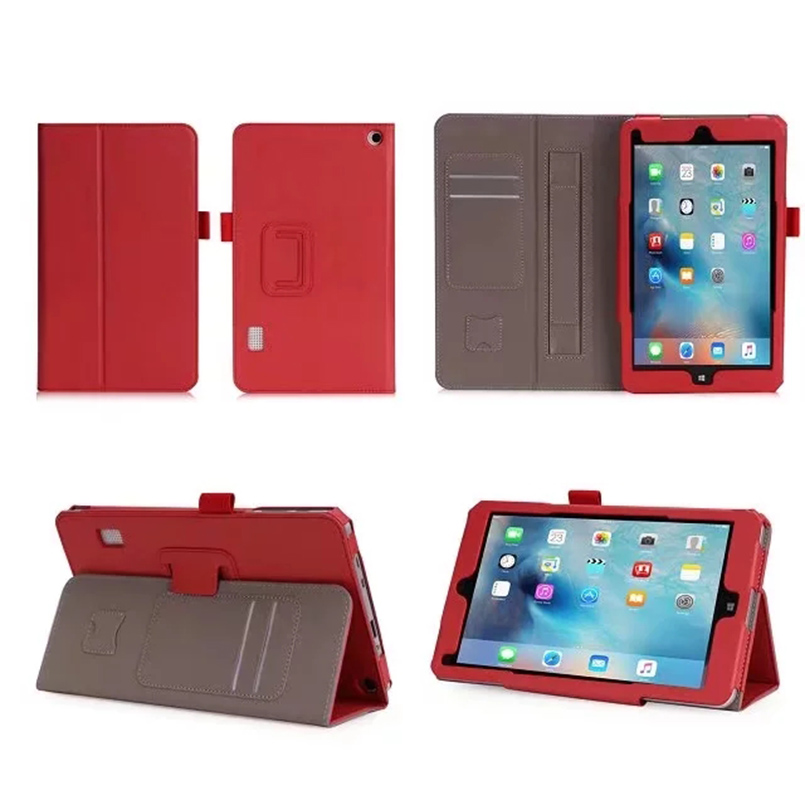 For Jumper EZpad Mini4s Tablet Case PU Leather Folding Stand Cover for Jumper Mini 4s 8.3inch Funda with Card Slot Hand Holder