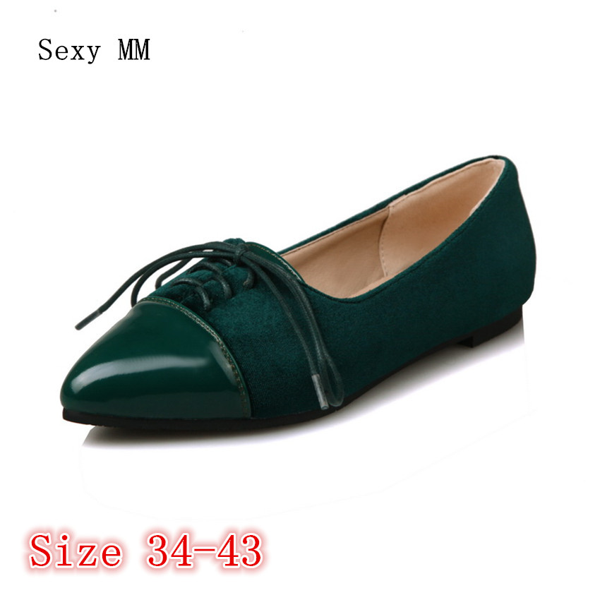 Slip On Shoes Loafers Girl Ballet Flats Women Flat Shoes Soft Comfortable Shoes Woman Plus Size 34 - 40 41 42 43 jingkubu 2017 autumn winter women ballet flats simple sewing warm fur comfort cotton shoes woman loafers slip on size 35 40 w329