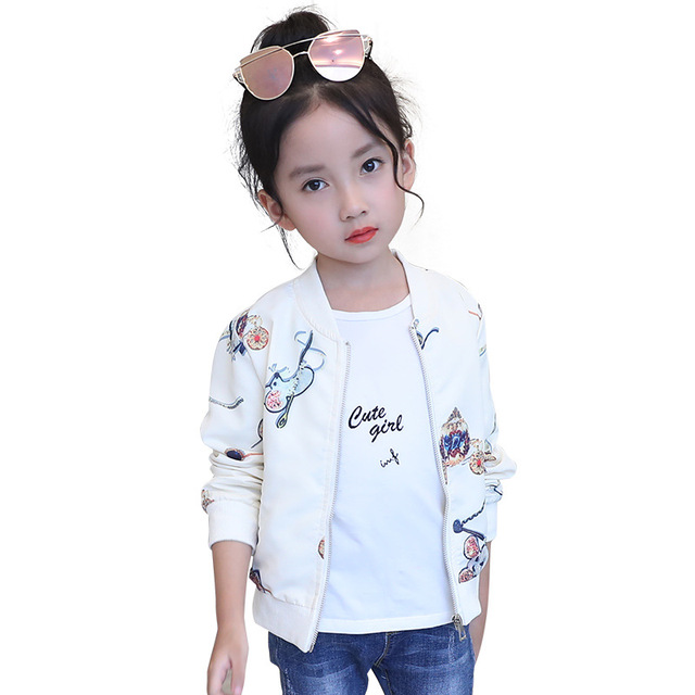 70d61548e 6 10 13 Autumn Spring Baby Girl Jacket Coat Infant Outerwear Cute ...