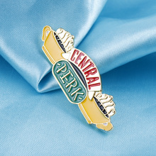 Hot Jewelry FRIENDS Friends Coffee Shop House Brooch Pin Central Perk Gender needle