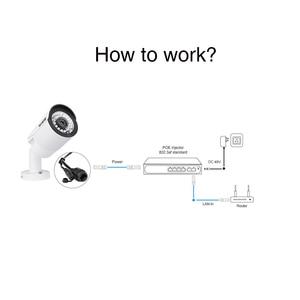 Image 2 - Commutateur POE réseau 48V Techege avec 4/8 Ports 10/100Mbps IEEE 802.3 af/at caméra IP Ethernet/système de caméra AP/CCTV sans fil