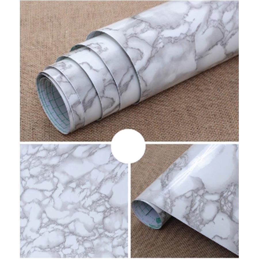 Waterproof Bathroom Walllpaper: PVC Waterproof Bathroom Kitchen Backsplash
