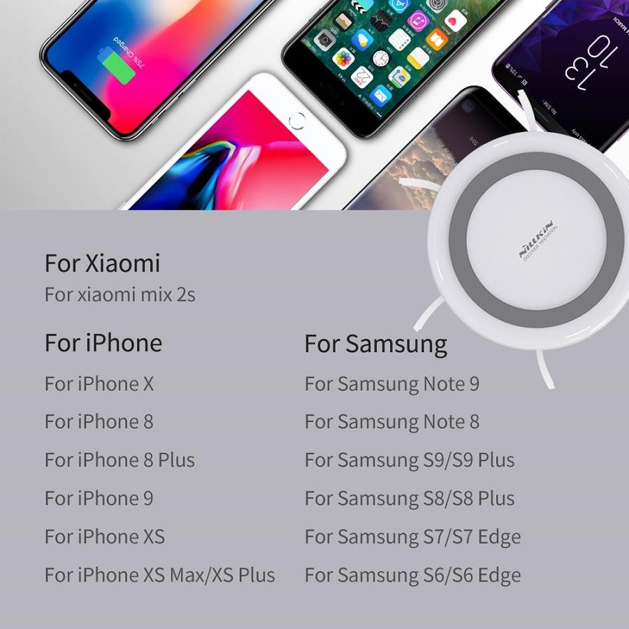 NILLKIN USB Breiden USB 3.0 HUB 5 Poorten voor Xiaomi Pocophone F1 Voor iPhone XS voor Samsung S8 Qi Draadloze lader Android Adapter - 4