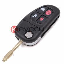 Smart Remote Key Clicker 4 Кнопка 315 МГц С 4D60 Чип для Jaguar X Type XJ8 S-типа 2001-2008 FCC: NHVWB1U241