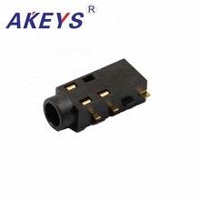 10PCS PJ-381B 3.5 earphone jack 5 pin insert without fixed for micro usb socket PJ -3086