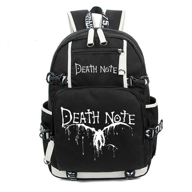 Death Note Large Oxford Bag Luminous Printing Backpack