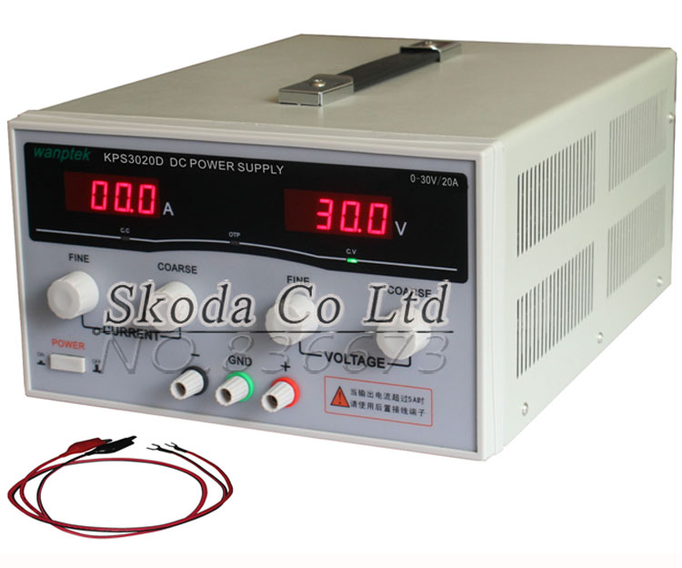 KPS3020D high precision Adjustable Digital DC Power Supply 30V/20A for scientific research Laboratory Switch DC power supply kps3020d high precision adjustable digital dc power supply 30v 20a for scientific research laboratory switch dc power supply