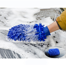 Microfiber Cleaning Gloves For Garden Gloves Kitchen Household Window Washing Cleaning Towel Dish Gloves
