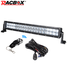 RACBOX 5D 22 дюймов 200 Вт Offroad светодиодный свет бар DRL Для jeep автомобильной грузовик ATV внедорожник УАЗ 4×4 Спот Наводнение Combo Луч Offroad лампа