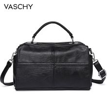 VASCHY Crossbody Gags for Women Vegan Leather Handbag  Purses Top Handle Satchel Fashion Shoulder Bag цена в Москве и Питере