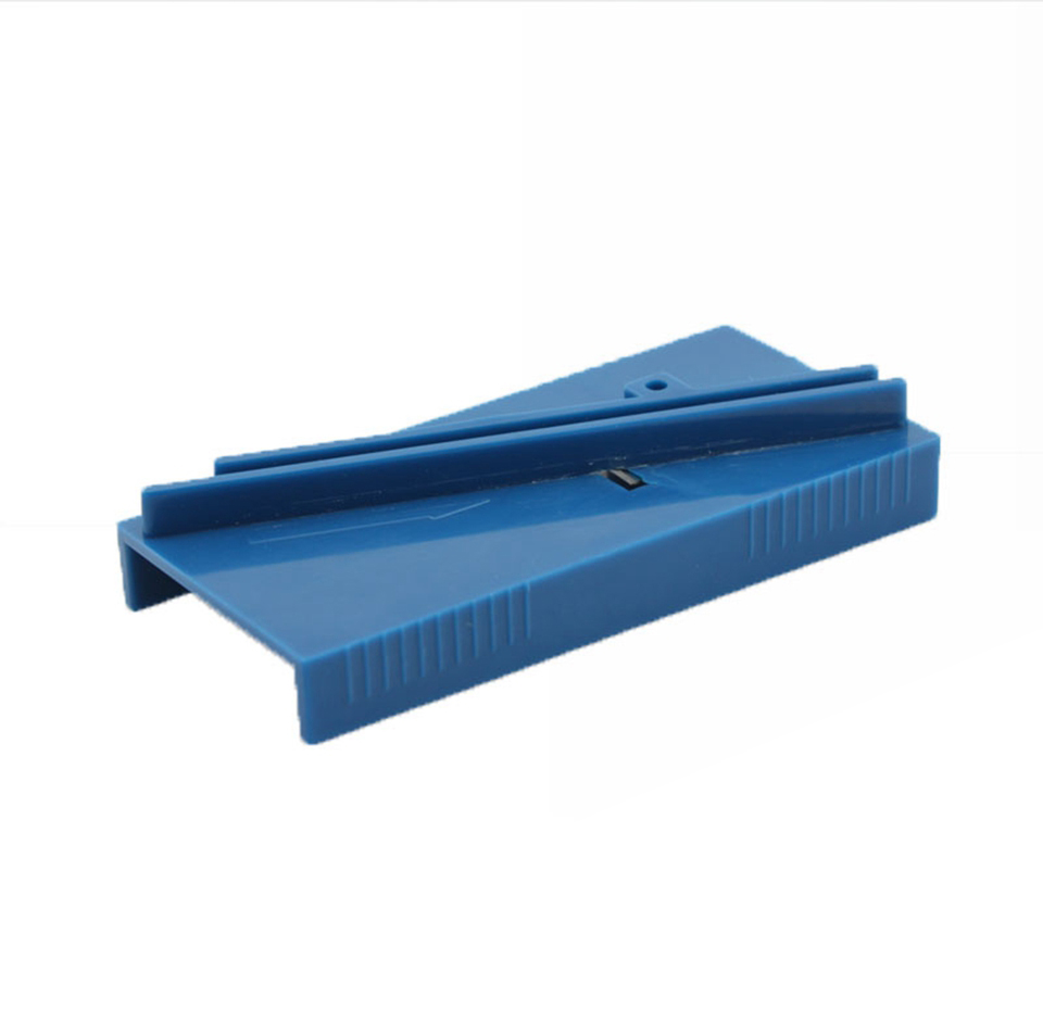Image 4 - 4.5*9.5cm Scraper Repair Tool Plastic Blue Squeegee Trimmer Hard Card Sharpening Tool For Vinyl Application MO 126-in Car Stickers from Automobiles & Motorcycles