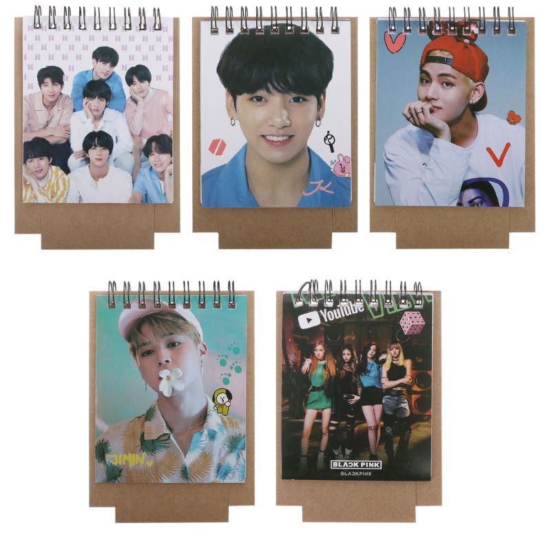 Calendars, Planners & Cards Kpop Bts Love Yourself 2019 Mini Desktop Calendar Jungkook V Photo Picture Army Gift