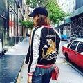 2016 Мода Женщин С Длинным Рукавом Цветочный Повседневная Костюм Повседневная вышивка Пальто Куртки И Пиджаки Осень