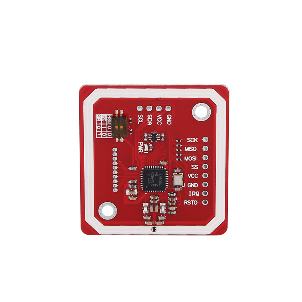 US $8 36 11% OFF|NXP PN532 NFC RFID Module V3 Kit Near Field Communication  to Smart Phone Android spacing 4pin Cable-in Mobile Phone Antenna from