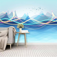 Mountain surf surf wall background wall professional production mural factory wholesale wallpaper mural poster photo wall romantic mediterranean style background wall professional production mural wholesale wallpaper mural poster photo wall