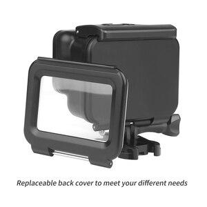 Image 2 - TIRER 40 M Sous Marine Boîtier Étanche pour GoPro Hero 5 Noir Aller Pro Hero 6 Caméra Plongée Mont Logement pour GoPro Hero 6 accessoire