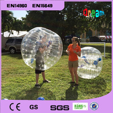 Hot sell 1.2m  0.8mm PVC  colorful  inflatable bubble soccer ball/bumper soccer ball/loopy ball