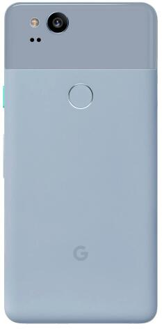 Разблокированный смартфон Google Pixel 2 5,0 ''дюймов, Восьмиядерный, с одной sim-картой, 4G LTE, Android, мобильный телефон, 4 Гб ram, 64 ГБ, 128 ГБ rom, смартфон - Цвет: Синий
