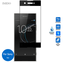 All Coverage For Sony Xperia Xa1 Full Cover Tempered Glass Screen Protector 2.5D Safety Film On Xa 1 G3112 G3116 G 3112 3116