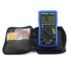 Professional Multimetro Digital HoldPeak HP-90E Measure Instrument Digital Auto Range Multimeter with Data Hold Battery Test 90E