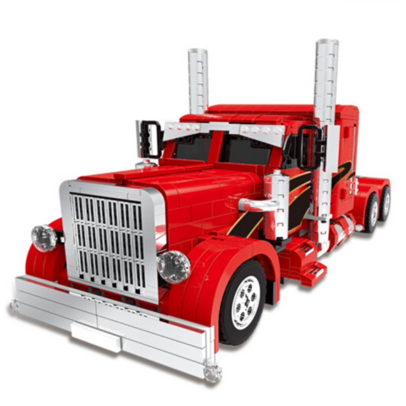 XINGBAO Technic Creator Speed Red Monster Big Truck Building Blocks Bricks City Car Model Kids Toys Gifts Compatible Legoings 1681pcs assembly blocks burj khalifa tower model toy diamond bricks kids gifts birthday present compatible creator 16 16 45cm