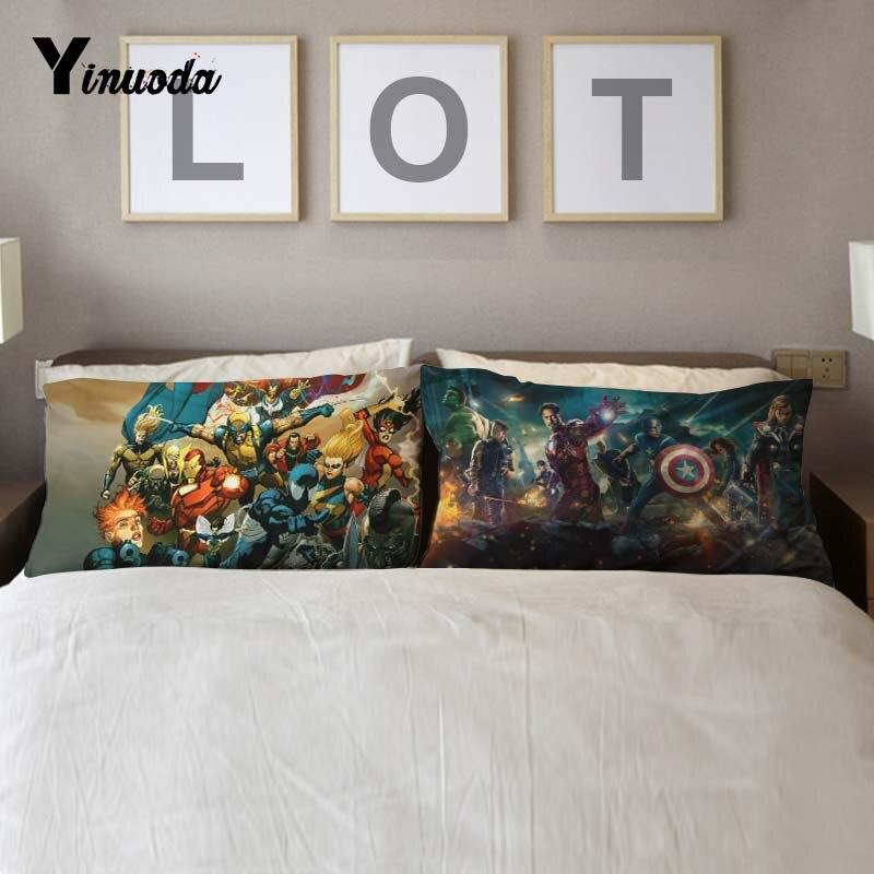 Marvel Comics Avengers Vintage Super Deal Cushion Home Decorative Luxury Pillow Cover