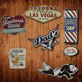 Irregular eua estilo sombra de estanho do vintage placa bar pub casa café restaurante decoração da parede retro metal arte cartaz