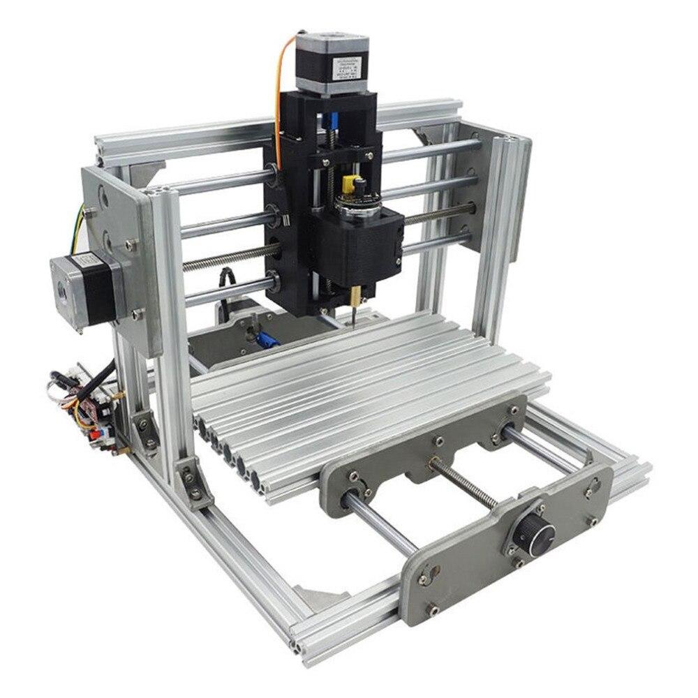CNC2417 Wood Router Mill Router Kit Desktop Metal Engraver Machine Mini PCB Milling Laser Engraving For Wood GRBL Control DIY стоимость