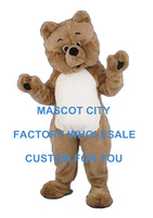 Популярные жира плюшевый медведь Маскоты костюм для взрослых Размеры персонажа из мультфильма Карнавал Cosply праздник реквизит Необычные пл