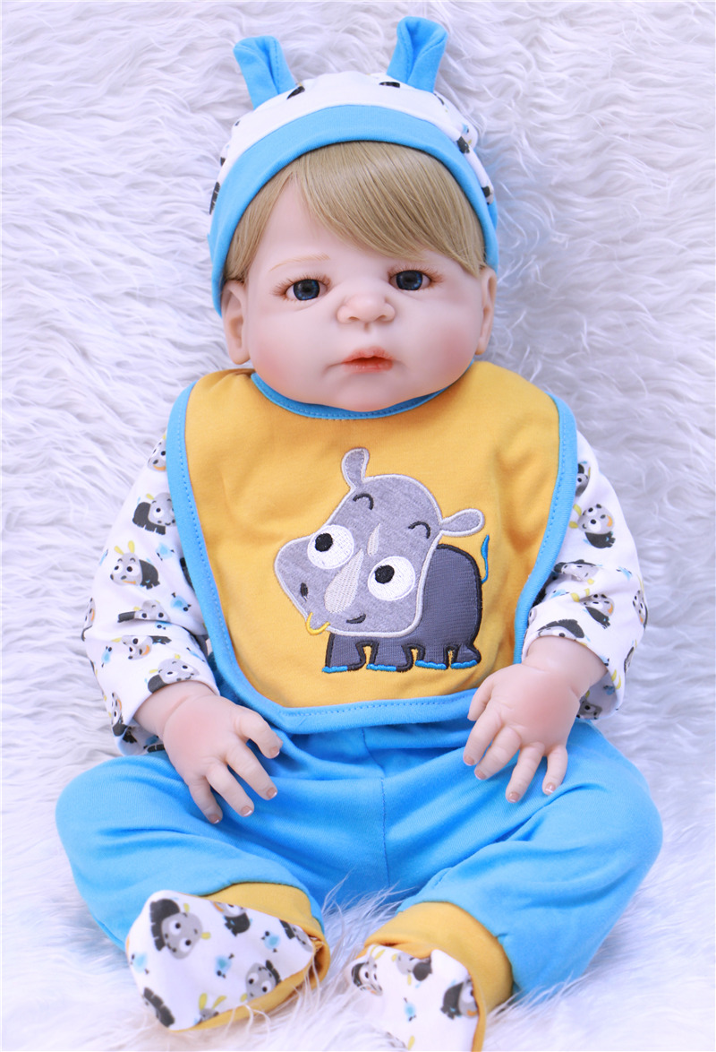 Bebes reborn menino 2357cm full silicone reborn baby dolls  cute boy doll reborn babies child girl toy dolls reborn bonecasBebes reborn menino 2357cm full silicone reborn baby dolls  cute boy doll reborn babies child girl toy dolls reborn bonecas