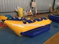 Горячая продажа водные развлекательные игрушки надувная лодка банан 3 комплекта бесплатная доставка
