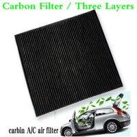 Para 2007-2014 toyota voxy carro ativado carbono cabine filtro de ar fresco ar condicionado filtro de ar auto a/c filtro de ar