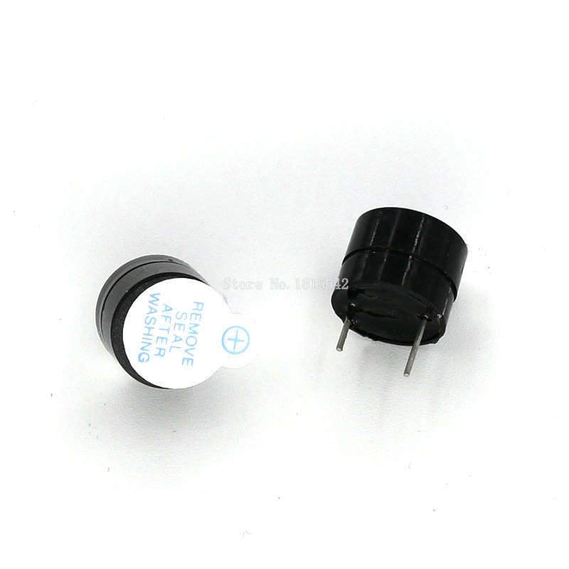 10PCS/Lot 5V Mini Magnetic Active Buzzer Alarm Ringer Black 9.6mm New