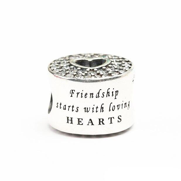 charm pandora su amicizia