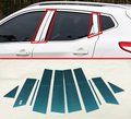 Para Nissan Qashqai J11 2014-2016 Aço Inoxidável pillar mensagem guarnição