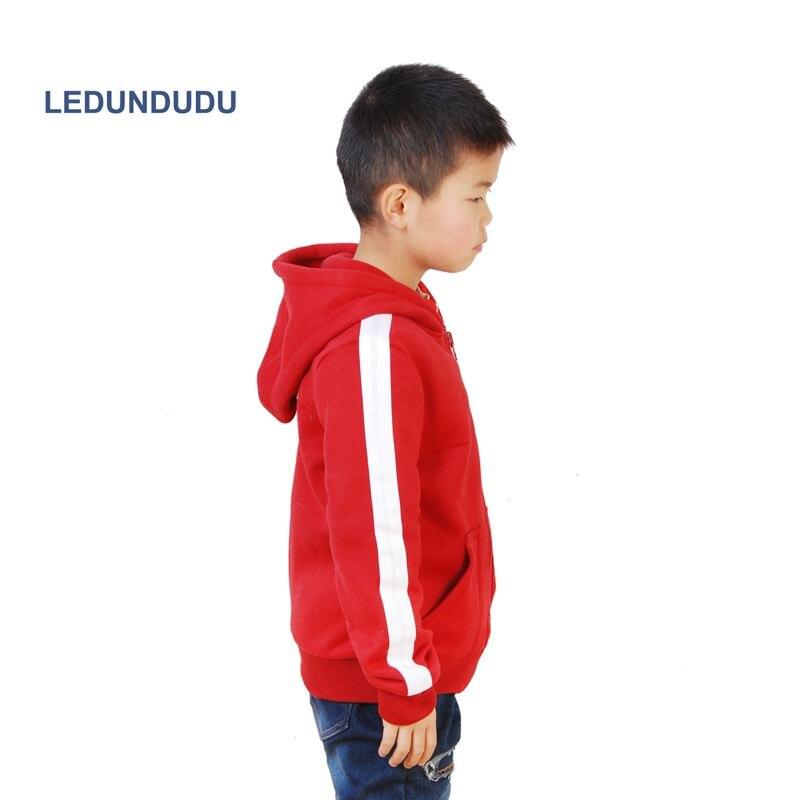 2017 Fashion Cartoon Movie COCO Cosplay Coat Kids Miguel Red Jacket Boys Fleece Winter Costumes