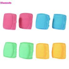 ФОТО breathable fashion baby safety crawling knee pads infant newborn mesh sponge kneepads leg knee protector children leg warmers
