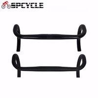 Spcycle UD Full Carbon Fiber Road Bicycle Drop Bars,Bike Components & Parts Bicycle Carbon Handlebars Bars 31.8*400/420/440mm