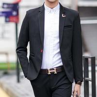 Men Suit Jackets Blazers Dress Suits Men's Casual Fashion Single Button Style Casual Slim Men Jackets custom