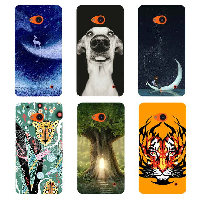 for Microsoft Lumia 640 Lte Dual Sim N640 case cover cartoon  printed phone case cool design Hard plastic UV painting back cover