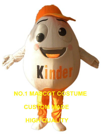 Ei maskottchen kostüm benutzerdefinierte cartoon charakter cosplay karneval kostüm 2995