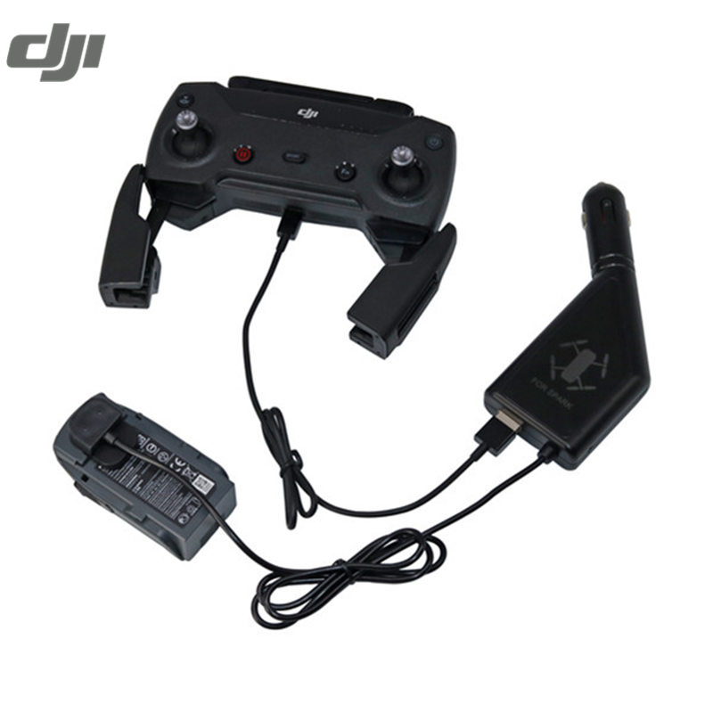 DJI Spark Battery Charging Board Parallel Outdoor Car Charger USB Transmitter Charger For RC FPV Racing Drone Power