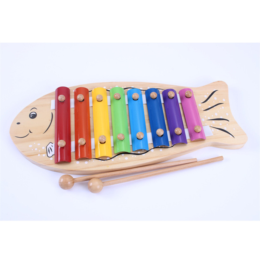 Aocoren Children Musical Toys 8 Scales Xylophone Wisdom Development Wooden Instrument improve Kids Sensitive Toys спиннинг штекерный swd wisdom 1 8 м 2 10 г